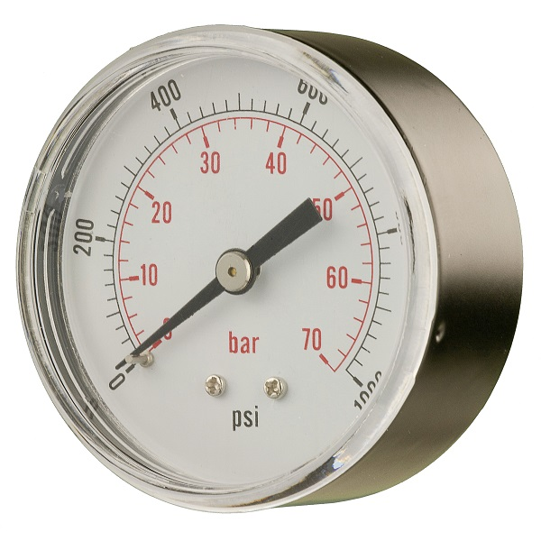 63MM DRY PRESSURE GAUGE (REAR CONNECTION)