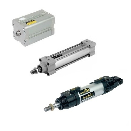 ASCO JOUCOMATIC PNEUMATIC CYLINDERS (ISOCLAIR & DOUBLE-ACTING)