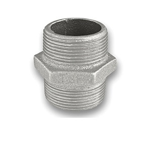 GALVANISED MALLEABLE HEX NIPPLE