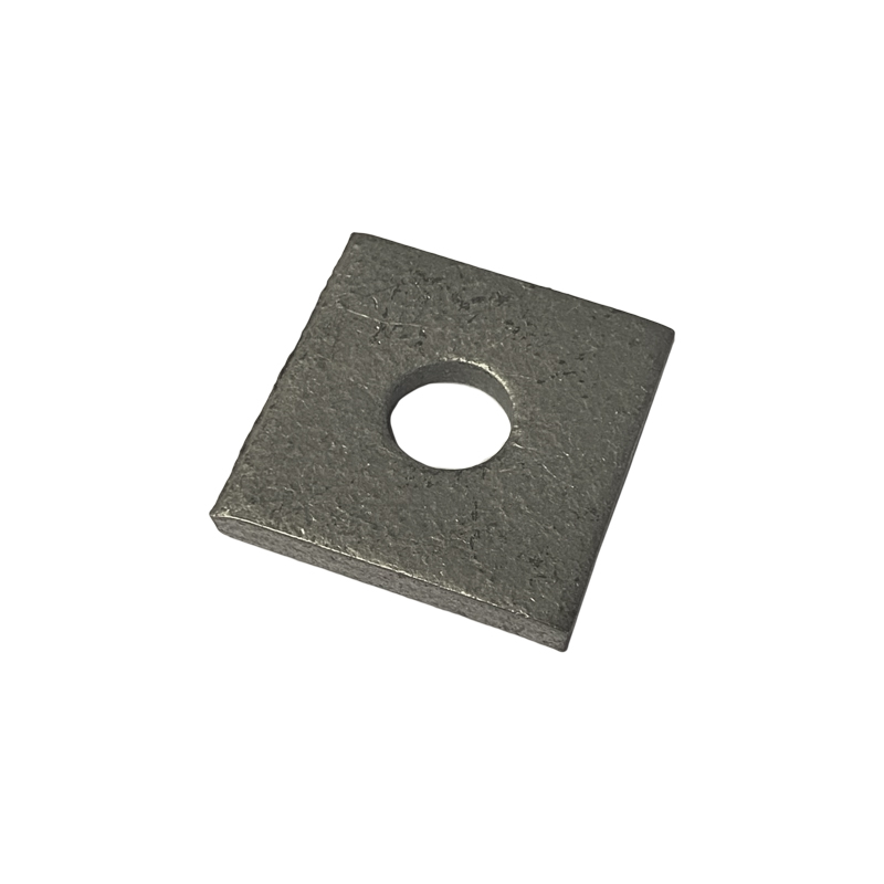 8MM 1 HOLE 40MM X 40MM SQUARE PLATE WASHER GALVANISED FB100/08