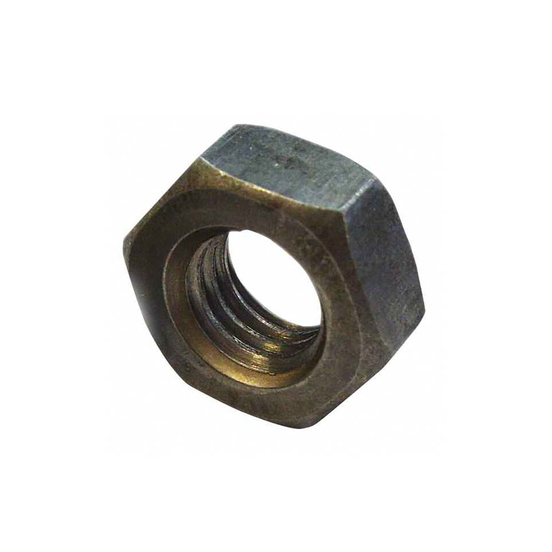 UNC C.F STEEL HEX FULL NUTS - SELF-COLOUR