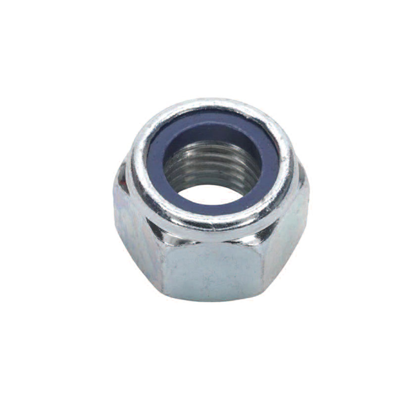"METRIC NYLON INSERT NUTS TYPE ""P"" - BZP"