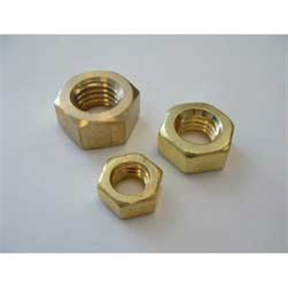 BRASS FULL NUTS - Whitworth