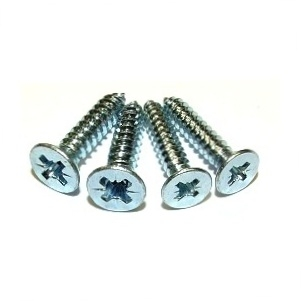 8G COUNTERSUNK POZI SELF-TAPPING SCREWS