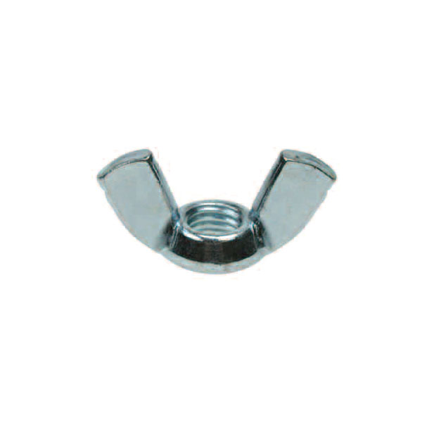 M12 STEEL WING NUT BZP