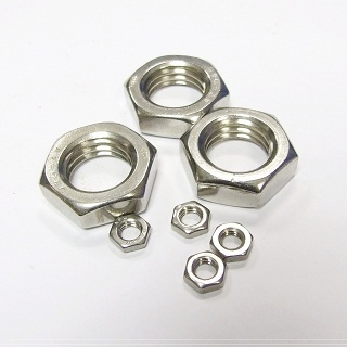 Hex Locknuts A2 Stainless Steel Metric Din439
