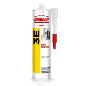 UNIBOND 3E SILICONE MULTI-PURPOSE SEALANT