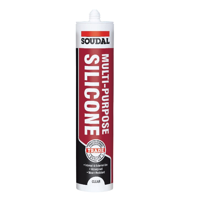 SOUDAL MULTI-PURPOSE SILICONE SEALANT