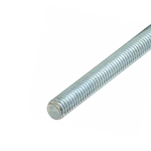 GALVANISED MILD STEEL STUDDING - 1 METRE LENGTHS