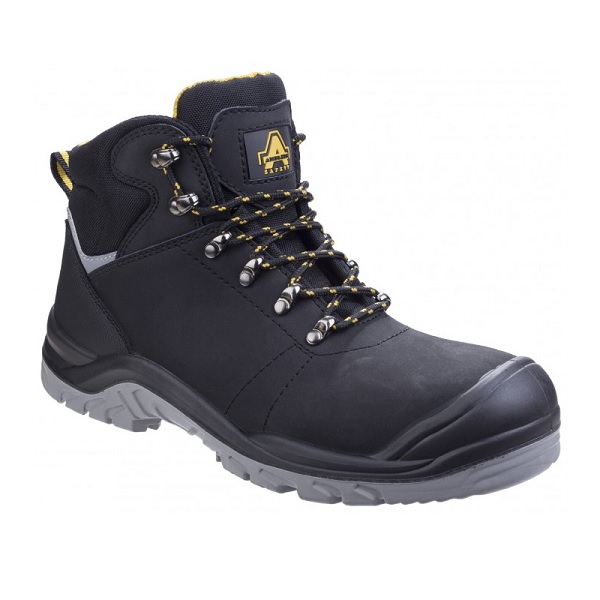 AMBLERS AS252 DELAMERE BLACK SAFETY BOOTS