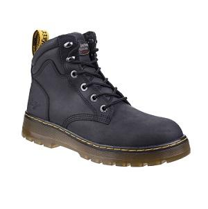 DR MARTENS BRACE SAFETY BOOTS  - BLACK