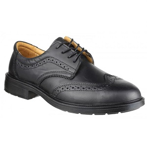 AMBLERS FS44 BLACK BROGUE SAFETY SHOES
