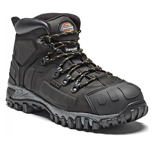 DICKIES MEDWAY BLACK HIKER BOOTS