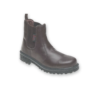 HIMALAYAN 161 BROWN SAFETY DEALER BOOTS