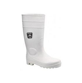 PORTWEST FW84 WHITE SAFETY WELLINGTONS
