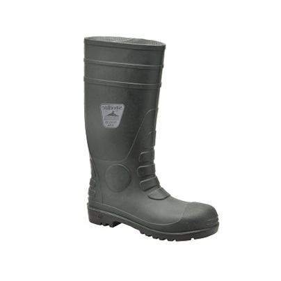 PORTWEST FW95 GREEN SAFETY WELLINGTONS