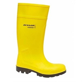 DUNLOP C462241 PUROFORT YELLOW SAFETY PLUS WELLINGTON