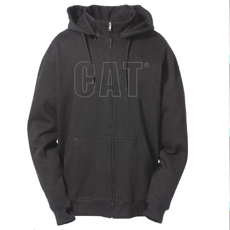 Caterpillar Black Applique Hoodie