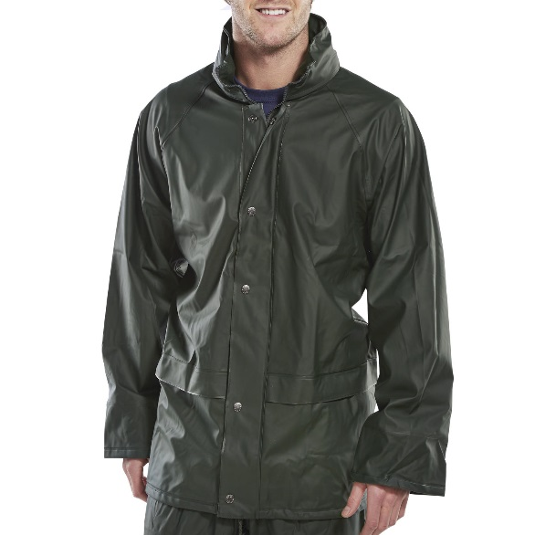 SUPER B-DRI WATERPROOF JACKET - GREEN