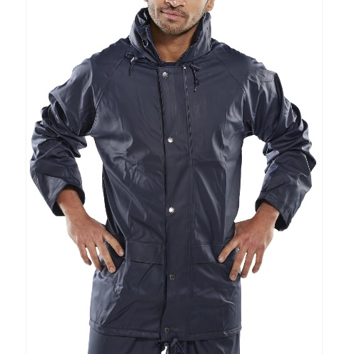 SUPER B-DRI WATERPROOF JACKET - NAVY