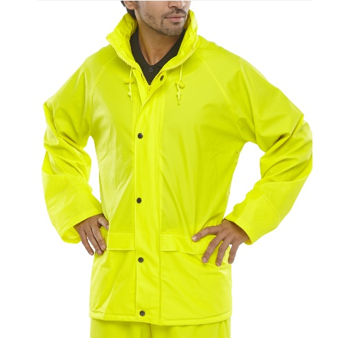 SMALL SUPER B-DRI WATERPROOF JACKET - YELLOW