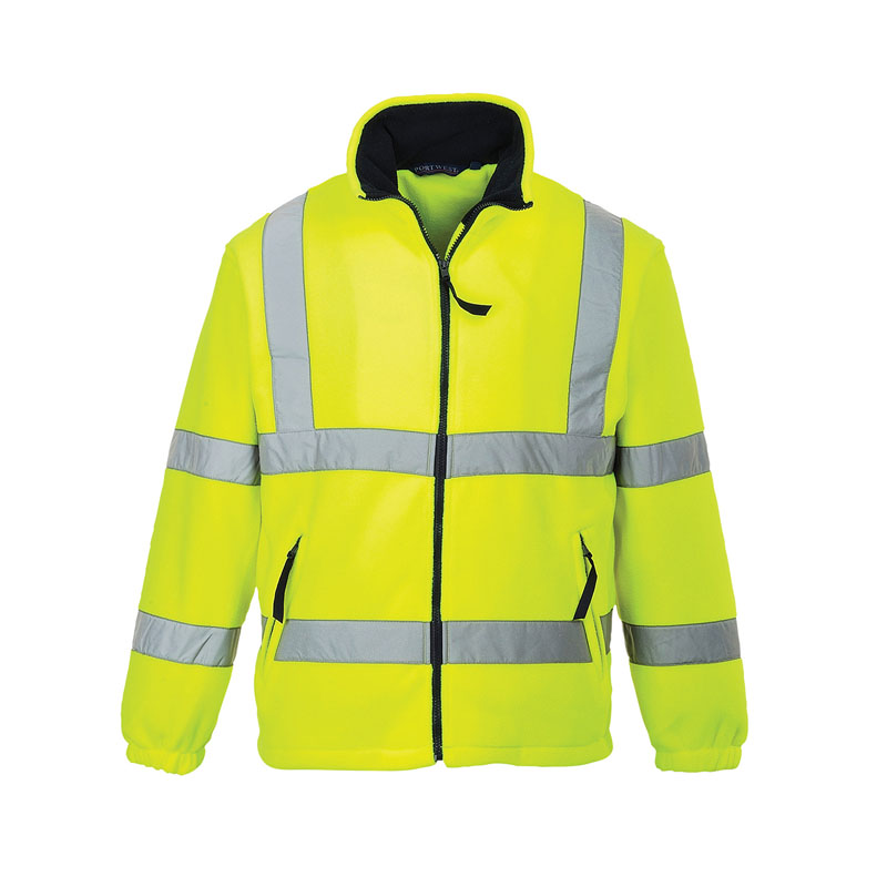 2XL CL3 HI-VIS YELLOW FLEECE EN ISO 20471