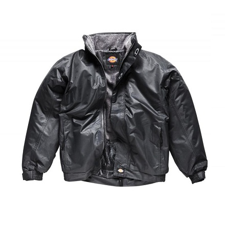 PORTWEST BLACK CALAIS BREATHABLE BOMBER JACKET S503