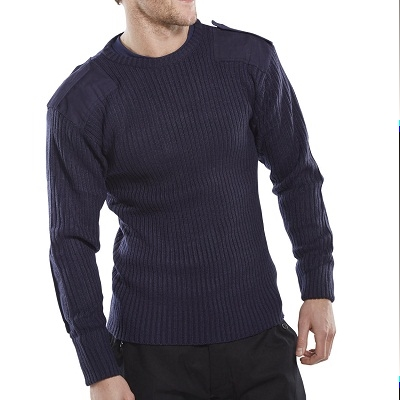 Crew Neck Commando Sweater