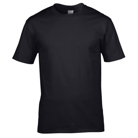 GILDAN 5000 COTTON T-SHIRT - BLACK