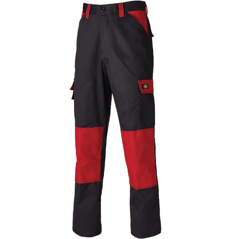 "30"" BLACK/RED 24/7 EVERYDAY TROUSERS TALL LEG"