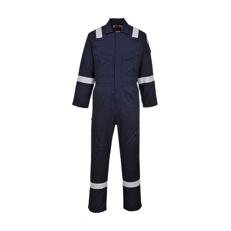 DICKIES LIGHTWEIGHT PYROVATEX COVERALL NAVY