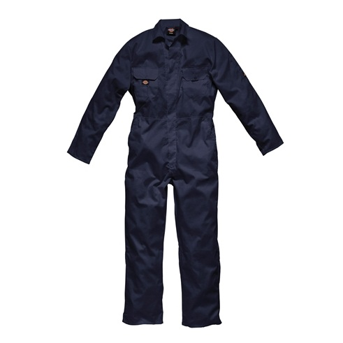 Dickies Redhawk Navy Stud Coverall WD4819