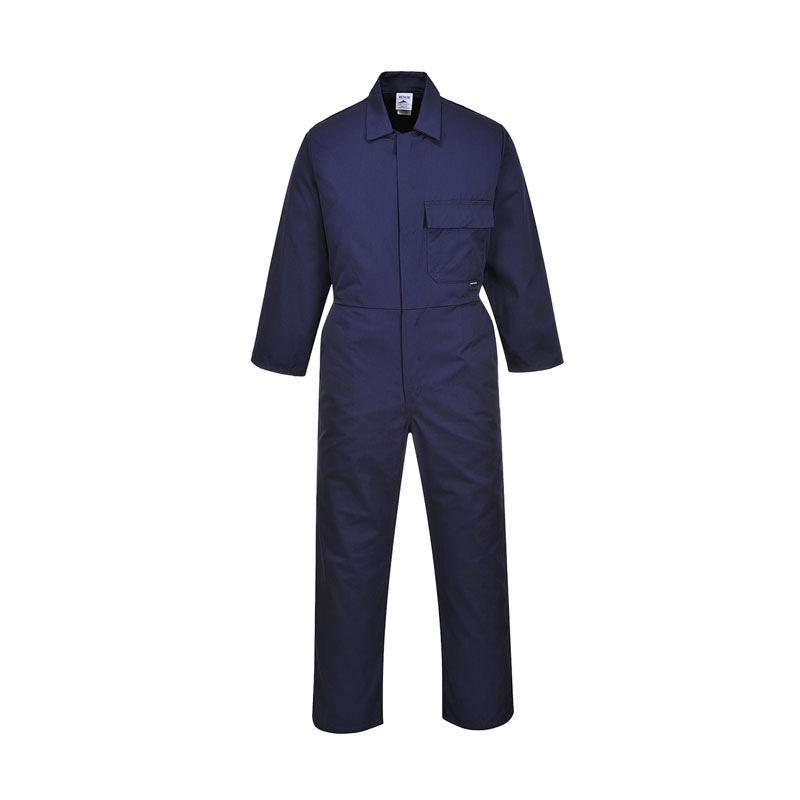DICKIES REDHAWK STUD FRONT COVERALL WD4829 - NAVY REGULAR