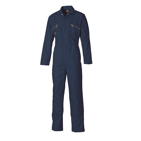DICKIES NAVY REDHAWK ZIP FRONT COVERALL WD4839 - TALL