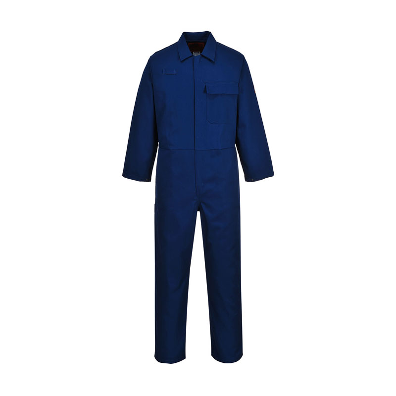 NAVY SAFEWELDER COVERALL FLAME RETARDENT - TALL C030