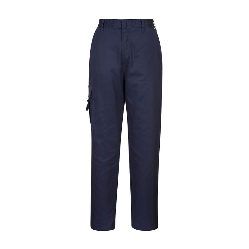 NAVY LADIES COMBAT TROUSERS REGULAR WITH CARGO POCKET C099