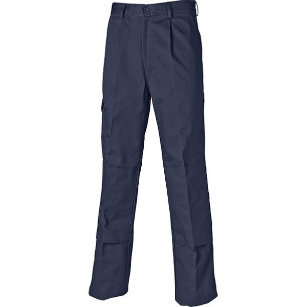 DICKIES NAVY WD884 REDHAWK SUPER WORK TROUSERS - TALL