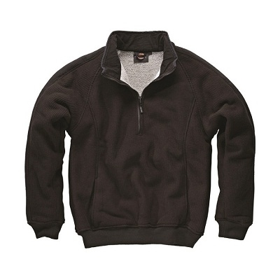 Dickies Black Eisenhower Pullover Fleece