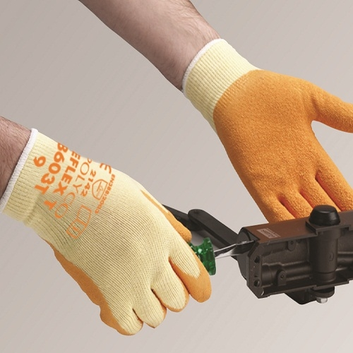 Polyco Reflex Orange Latex Glove