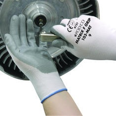 Polyco Matrix F-Grip Nitrile Glove Palm Coated