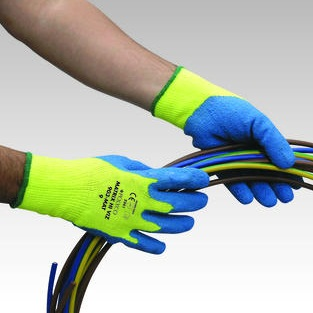 POLYCO HEALTHLINE MATRIX HI VIZ GLOVE THERMAL GLOVE