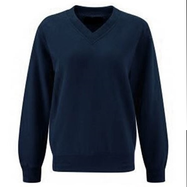 Coloursure V-Neck Navy Sweatshirt Md02m