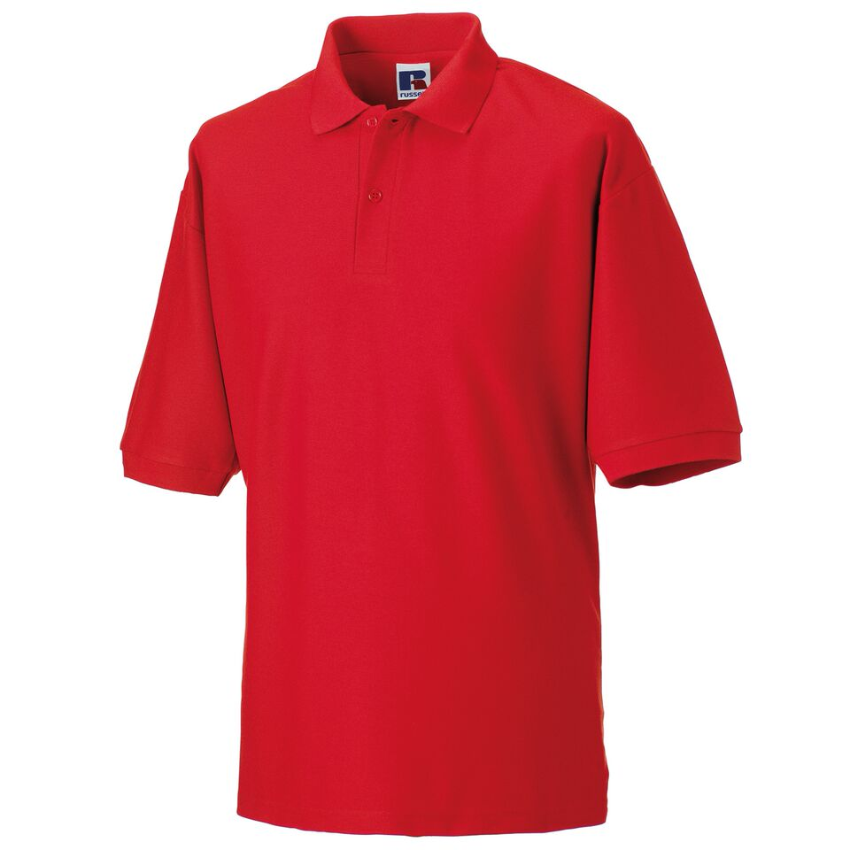 Short Sleeve Polo Shirt - Red