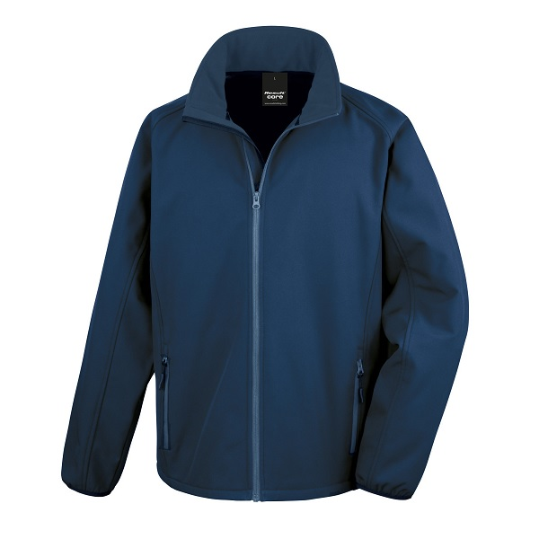NAVY SOFTSHELL JACKET R231M