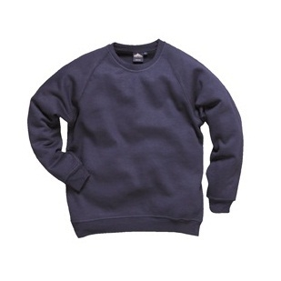 Roma Sweatshirt Navy Crew Neck