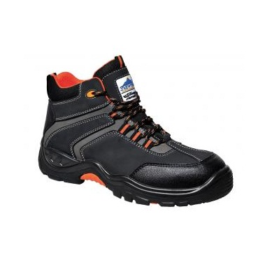 PORTWEST FC60 BLACK SAFETY BOOTS