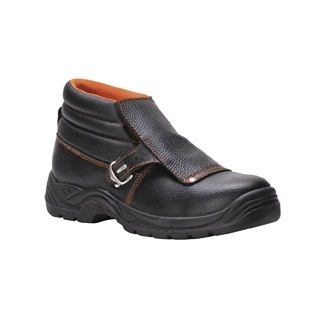 PORTWEST FW07 BLACK SAFETY WELDERS BOOTS