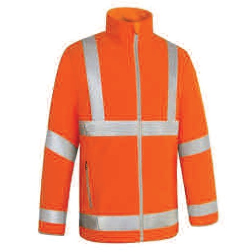 2XL HI-VIS BREATHABLE JACKET - ORANGE