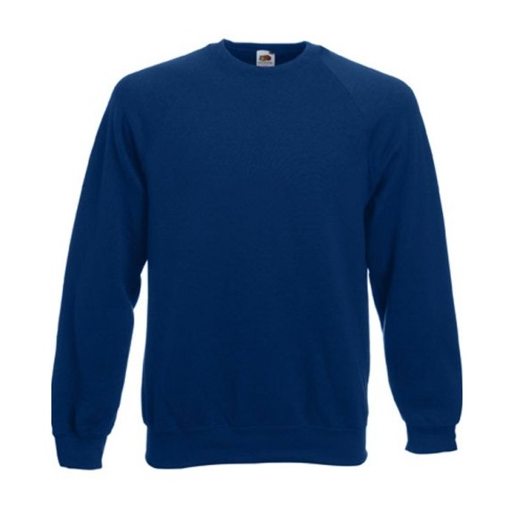 Fruit Of The Loom Navy Raglan Sweatshirt Screenstars SS270