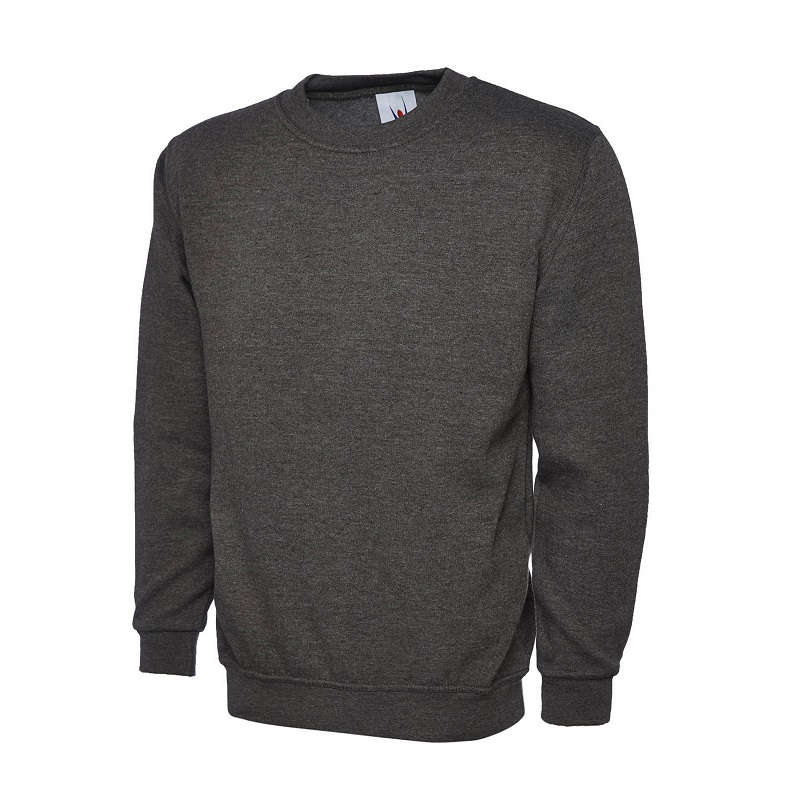 MEDIUM CHARCOAL CLASSIC SWEATSHIRT UC203